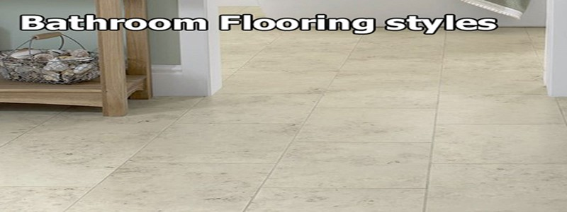 bathroom flooring style