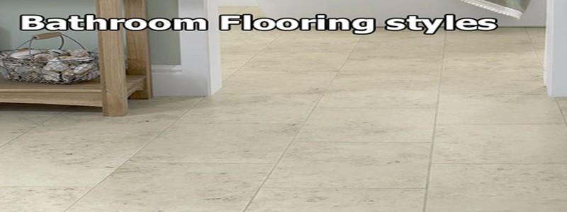 bathroom flooring style