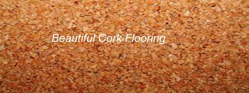 beautiful cork flooring