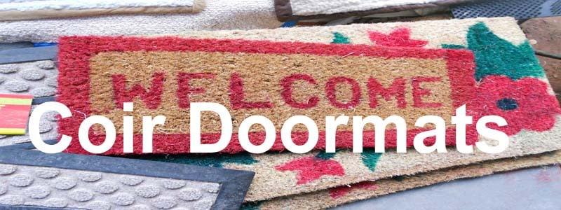 coir doormats