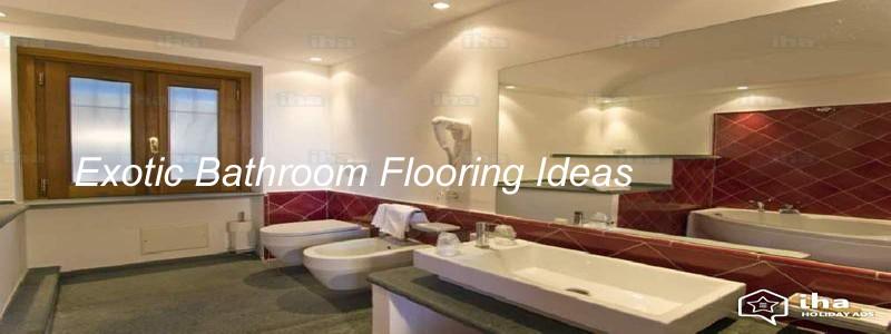 exotic bathroom flooring-