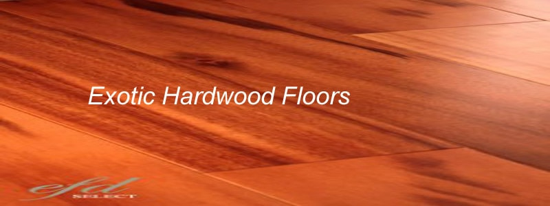 exotic hardwood floors - Are Exotic Hardwood Floors Worth Making Your Home Look Elegant And