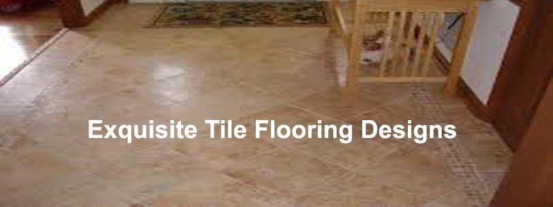 exquisite tile flooring designs