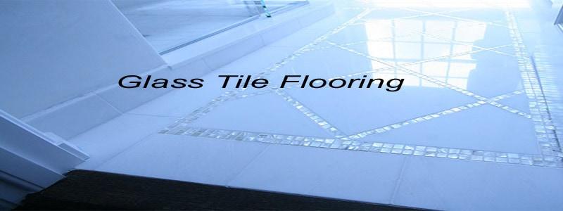 Glass Tile Flooring The Flooring Lady