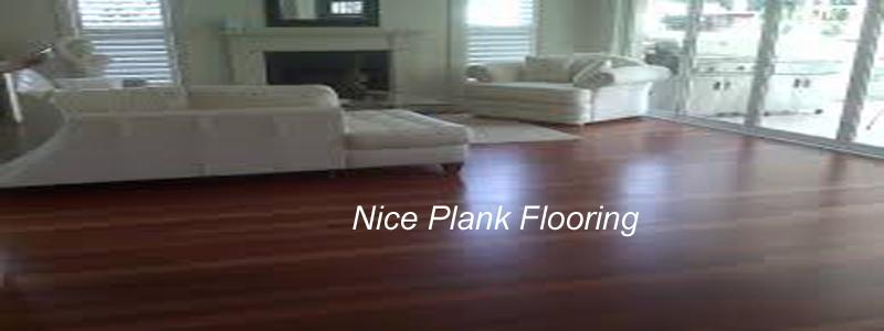nice plank flooring