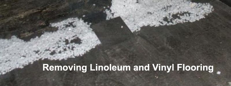 removing linoleum and vinyl flooring