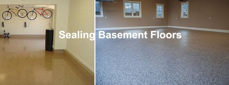 sealing basement floors