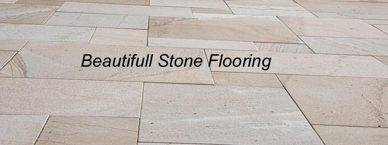beautiful stone flooring