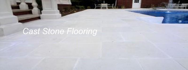 cast stone flooring