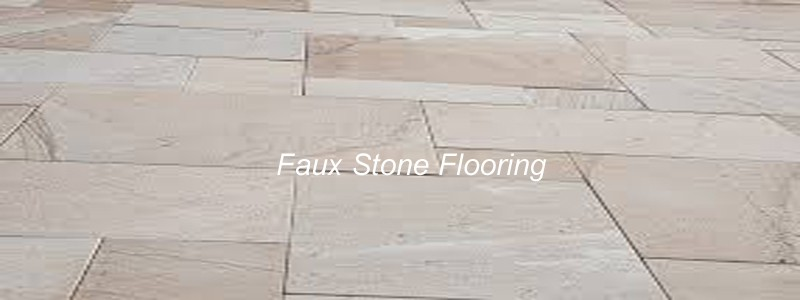 faux stone flooring