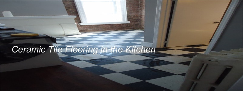 kitchen ceramic tile flooring