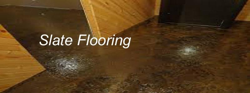 nice slate flooring