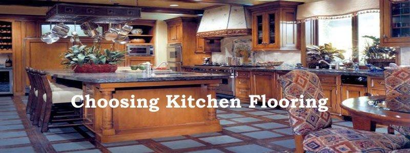 choosing kitchen flooring