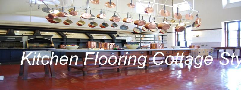 kitchen flooring cottage style