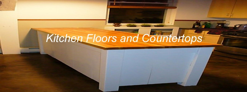 kitchen floors and countertops