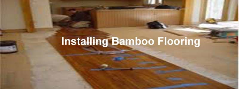 Installing bamboo flooring the flooring lady for Installing bamboo flooring