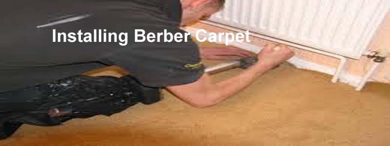 installing berber carpet