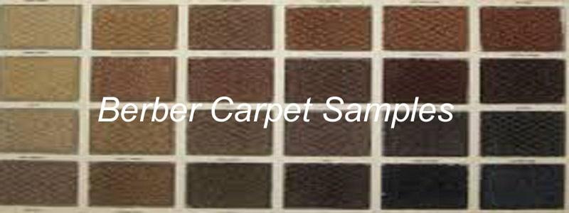 berber carpet samples