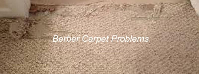 berber carpet problems