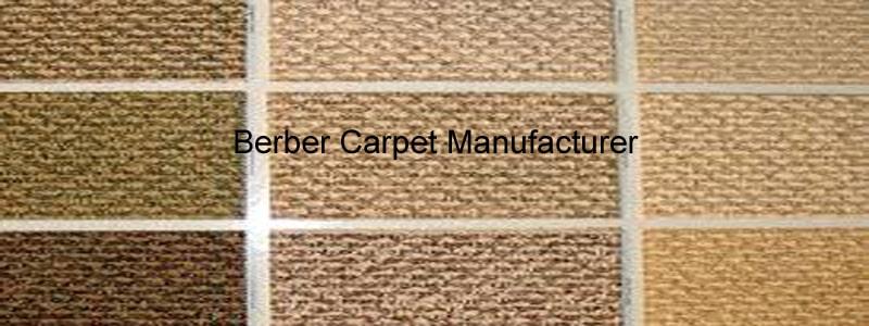berber carpet manufacturer