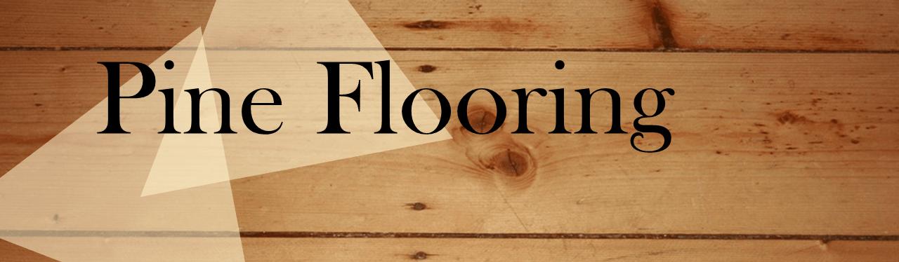 pine flooring header