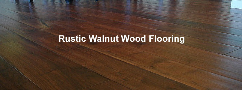 rustic walnut wood flooring