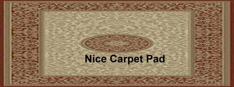 nice carpet pad