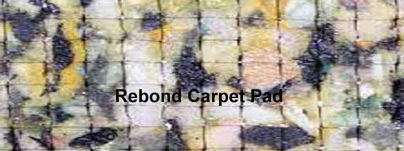 rebond carpet pad