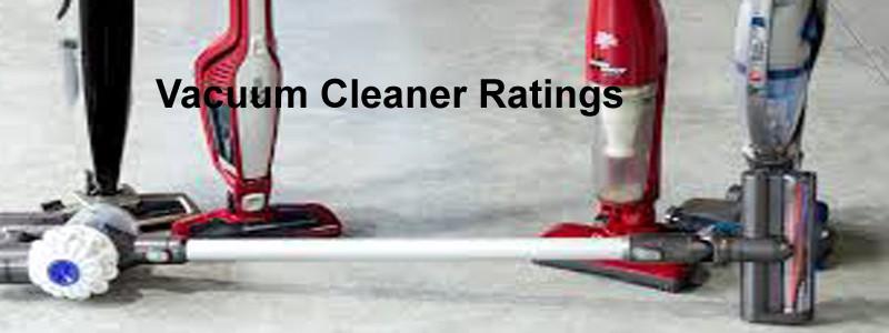 vacuum cleaner ratings