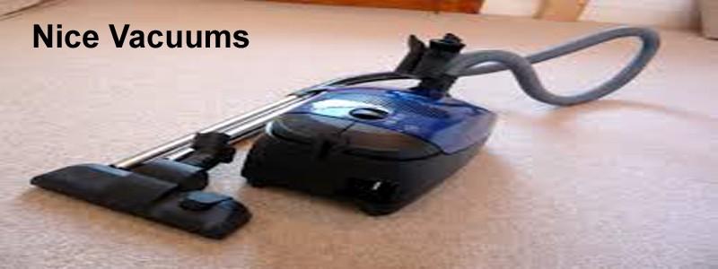 nice vacuums
