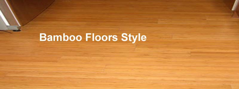 bamboo floors Style