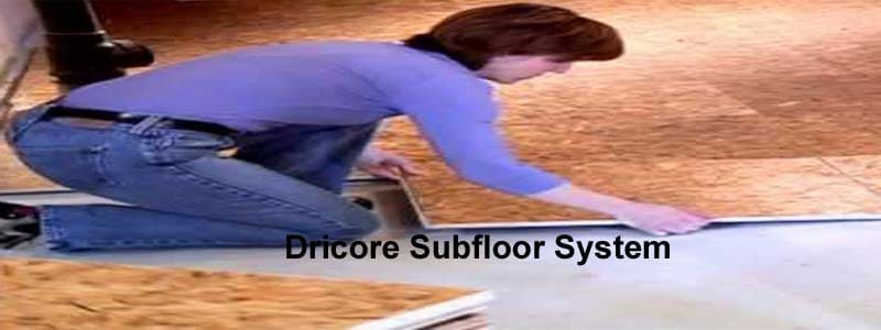 Dricore Subfloor System The Flooring Lady - Dry barrier subfloor