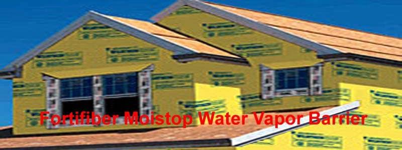 fortifiber moistop water vapor barrier