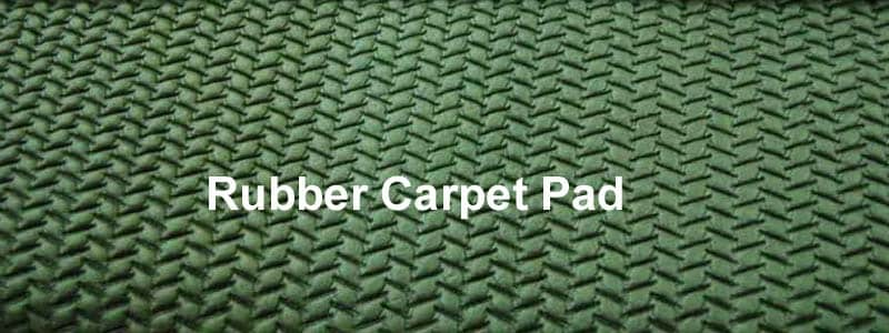 rubber carpet pad