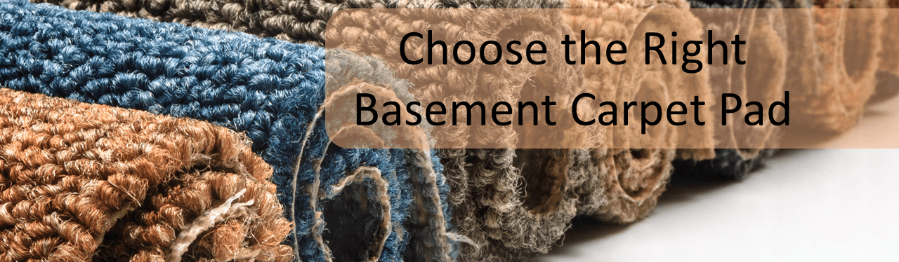 basement carpet pad