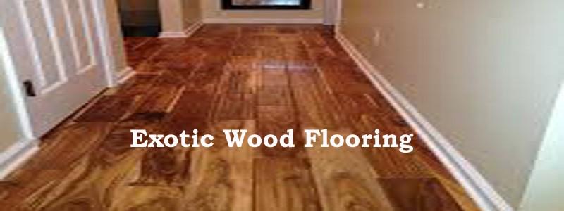 exotic wood flooring