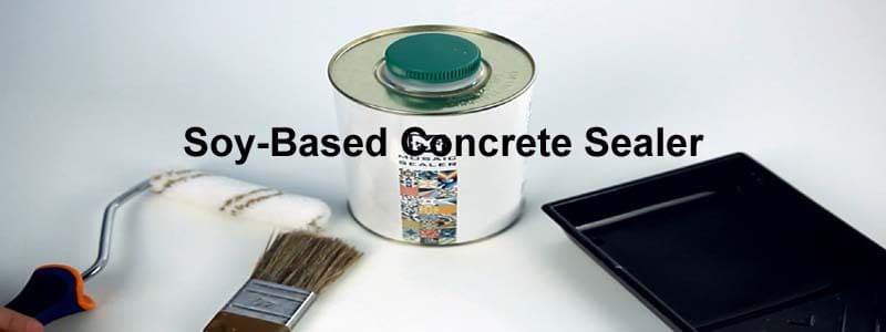soy based concrete sealer