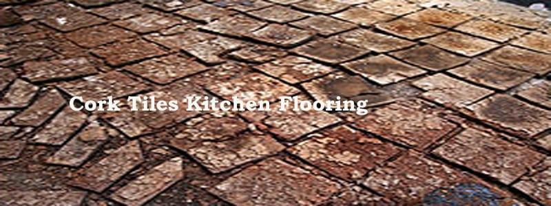 cork tiles kitchen flooring