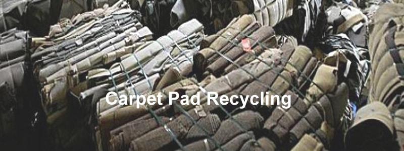 carpet pad recycling