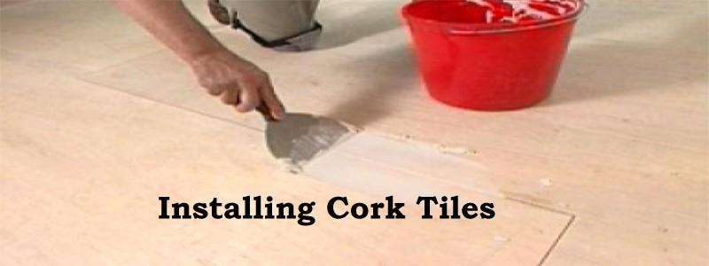 installing cork tiles
