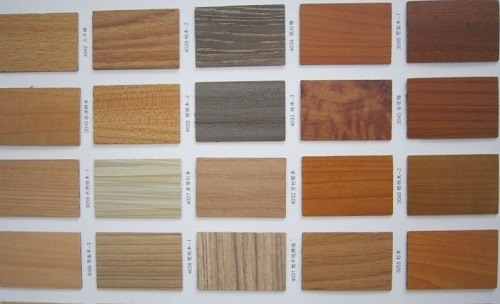 Patterns of Wood Style Laminates