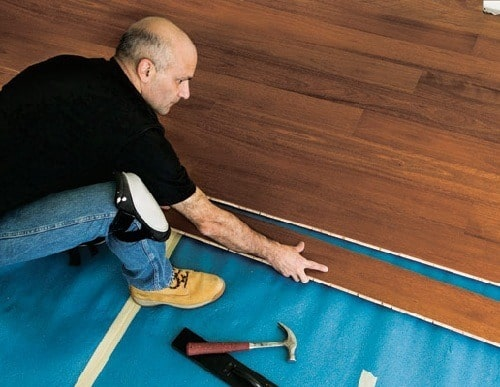 Alternative Method of Flooring Installing