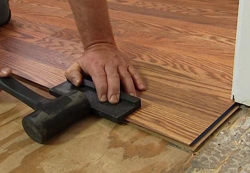 Laminate Flooring Installing