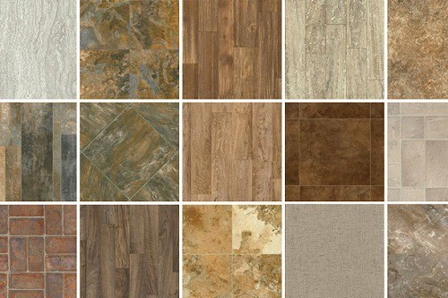 Various Types of Vinyl Flooring