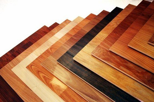 Palette of Different Laminates