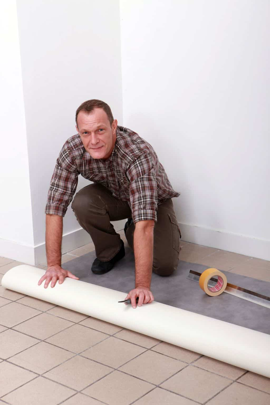 The types of vinyl flooring that you need to know theflooringlady installing the vinyl floor dailygadgetfo Image collections
