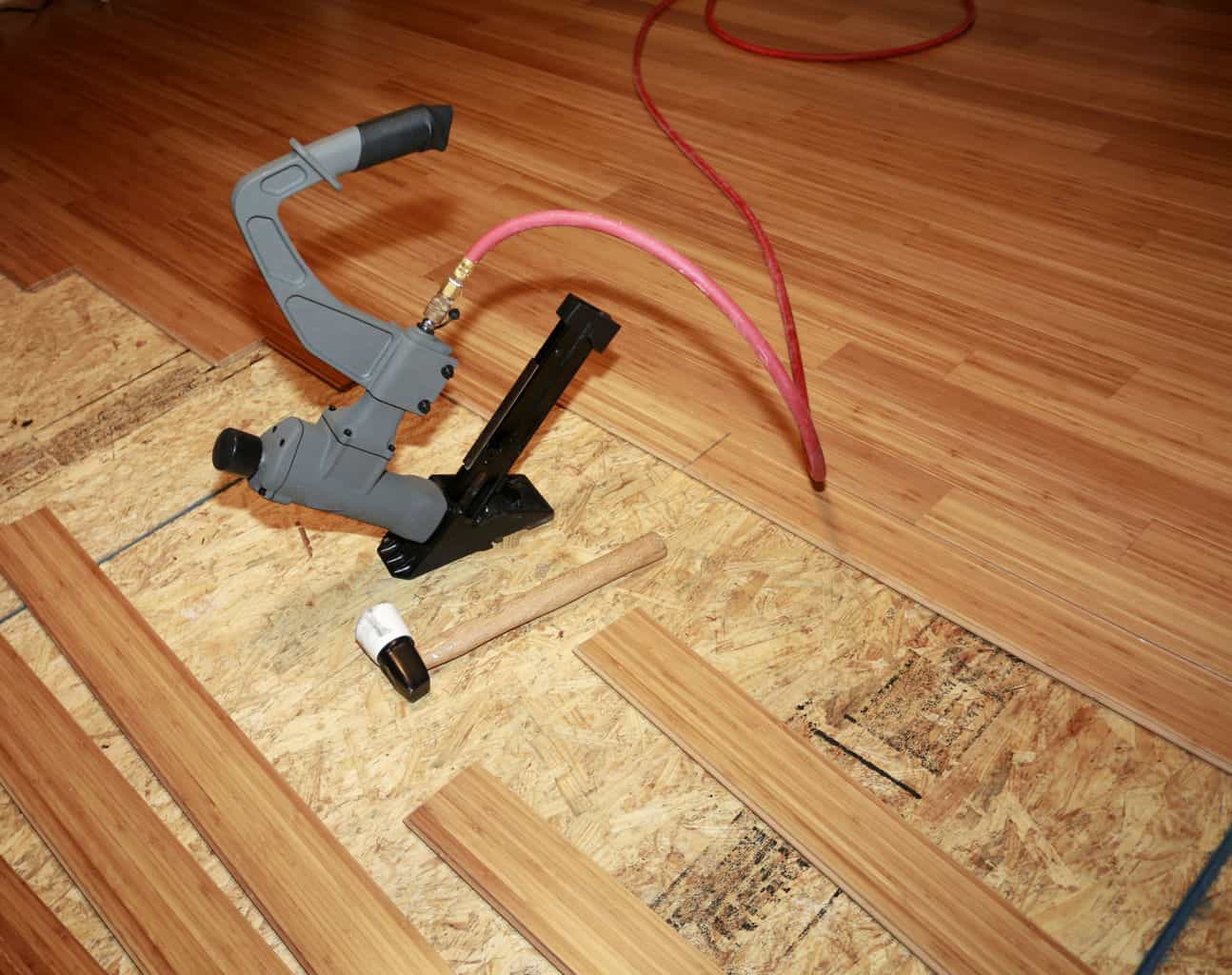 How to installation bamboo flooring theflooringlady if you decide to do it yourself its usually cheaper but you also should make sure to do it right the first time so that your bamboo flooring remains solutioingenieria Choice Image