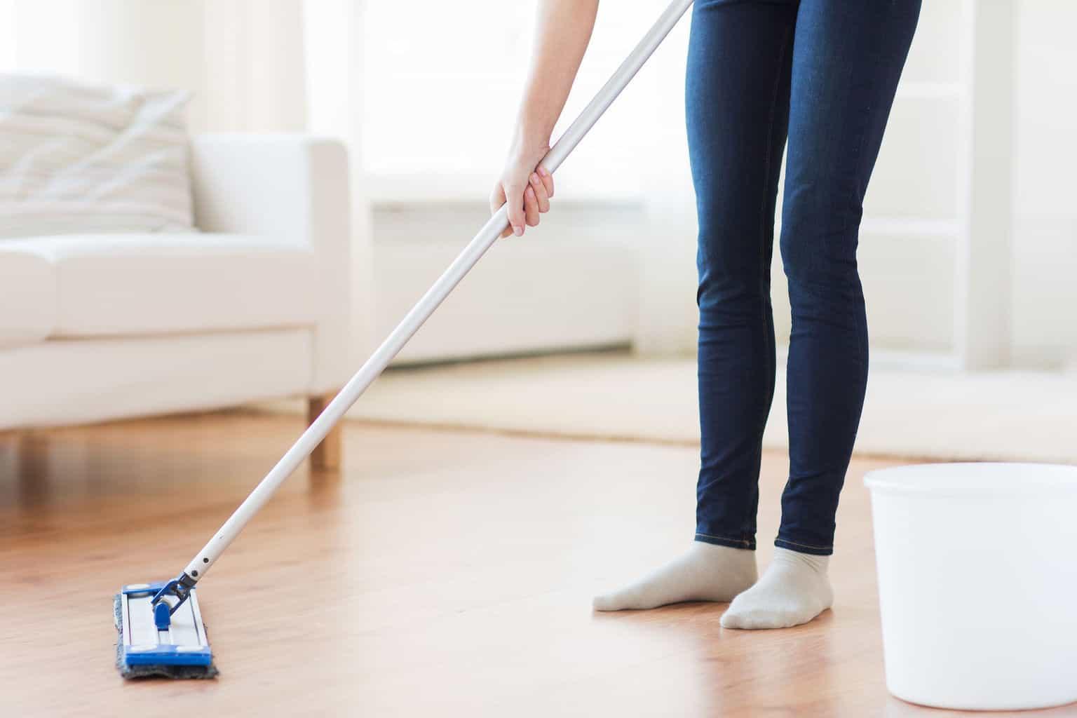 How Clean Mops Laminate Floors Theflooringlady