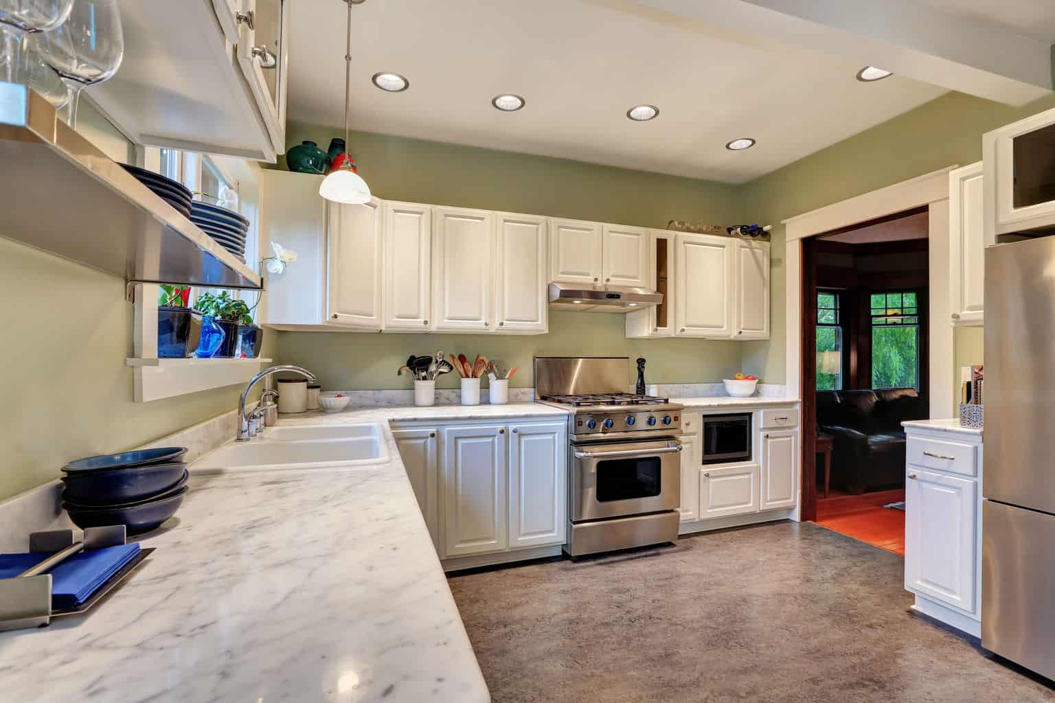 Kitchen Flooring Options Pros And Cons Best Ideas About Linoleum Kitchen Floors On Theflooringlady
