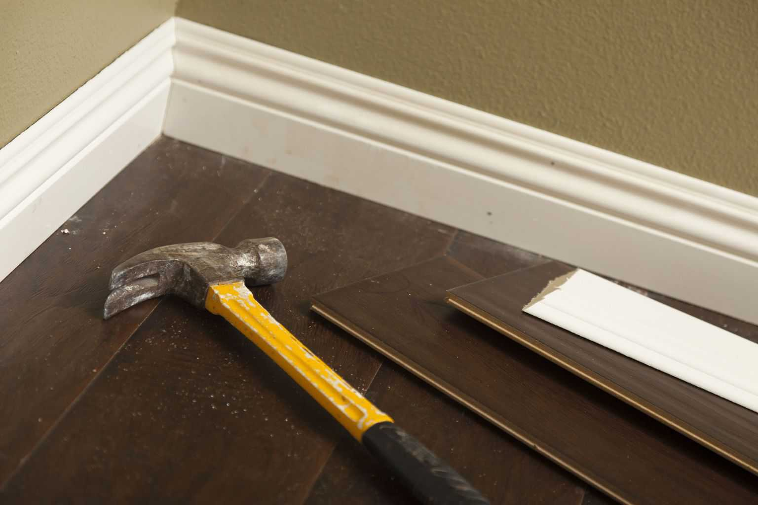 Removing Laminate Flooring how to remove glue and adhesive from floors todays homeowner Before You Begin The Task Of Removing Your Laminate Floor You Should Complete A Few Things